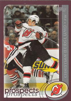 2002-03 Topps #282 Christian Berglund Front
