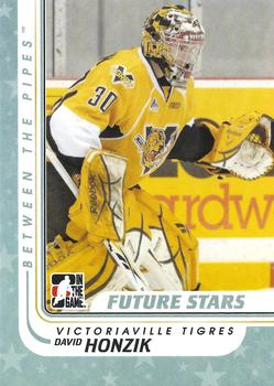2010-11 In The Game Between The Pipes #9 David Honzik Front