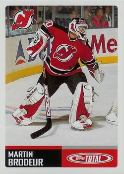 2002-03 Topps Total #293 Martin Brodeur Front