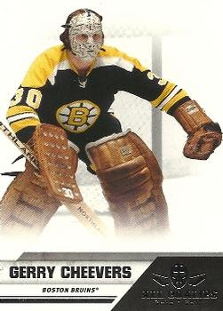 2010-11 Panini All-Goalies #93 Gerry Cheevers Front