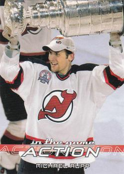 2003-04 In The Game Action #330 Michael Rupp Front