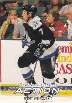2003-04 In The Game Action #508 Ben Clymer Front