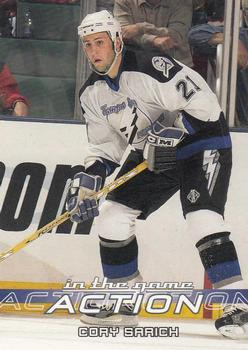 2003-04 In The Game Action #516 Cory Sarich Front