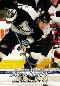 2003-04 In The Game Action #521 Alexander Svitov Front