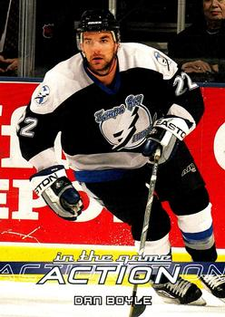 2003-04 In The Game Action #528 Dan Boyle Front