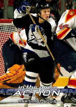2003-04 In The Game Action #562 Martin St. Louis Front