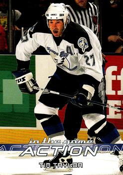 2003-04 In The Game Action #574 Tim Taylor Front