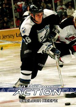 2003-04 In The Game Action #578 Sheldon Keefe Front
