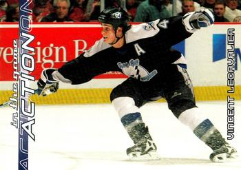 2003-04 In The Game Action #593 Vincent Lecavalier Front