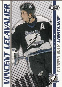 2003-04 Pacific Heads Up #87 Vincent Lecavalier Front