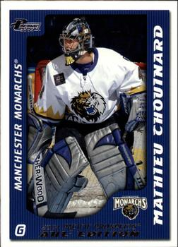2003-04 Pacific Prospects AHL #46 Mathieu Chouinard Front