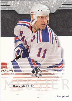 2003-04 SP Authentic #59 Mark Messier Front