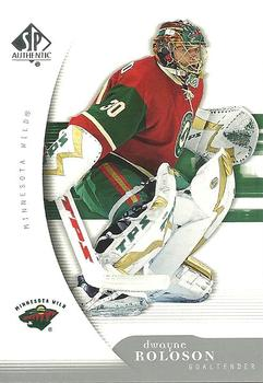 2005-06 SP Authentic #50 Dwayne Roloson Front