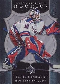 Henrik Lundqvist Gallery The Trading Card Database