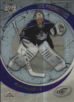 2005-06 Upper Deck Ice #198 Adam Hauser Front