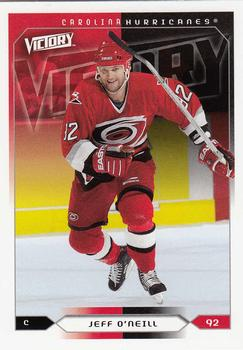 2005-06 Upper Deck Victory #33 Jeff O'Neill Front