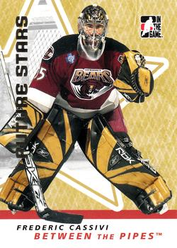 2006-07 In The Game Between The Pipes #14 Frederic Cassivi Front