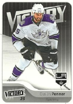 2011-12 Upper Deck Victory #84 Dustin Penner Front