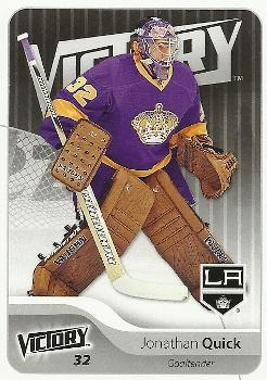2011-12 Upper Deck Victory #88 Jonathan Quick Front
