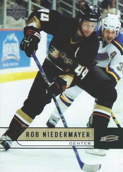 2006-07 Upper Deck #255 Rob Niedermayer Front