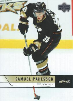 2006-07 Upper Deck #257 Samuel Pahlsson Front