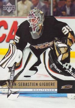 2006-07 Upper Deck #254 Jean-Sebastien Giguere Front