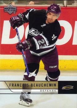 2006-07 Upper Deck #6 Francois Beauchemin Front