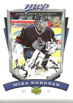 2006-07 Upper Deck MVP #289 Mika Noronen Front