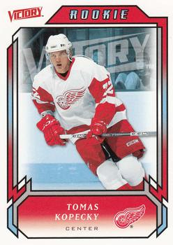 2006-07 Upper Deck Victory #201 Tomas Kopecky Front