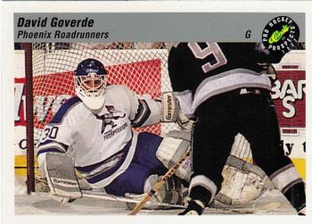 1993 Classic Pro Prospects #54 David Goverde Front