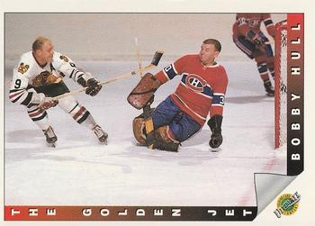 1991-92 Ultimate Original Six #91 Bobby Hull Front