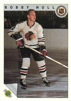 1991-92 Ultimate Original Six French #57 Bobby Hull  Front