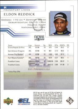 88 Eldon reddick Francfort Lions del 2000-01