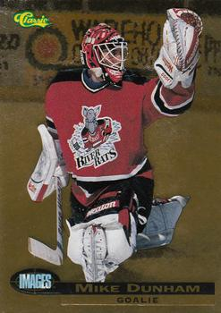 1995 Classic Images - Gold #61 Mike Dunham  Front