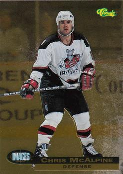 1995 Classic Images - Gold #80 Chris McAlpine  Front
