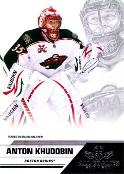 2010-11 Panini All-Goalies - Up Close #42 Anton Khudobin Front