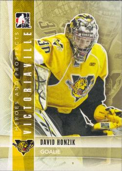 2011-12 In The Game Heroes & Prospects #46 David Honzik Front