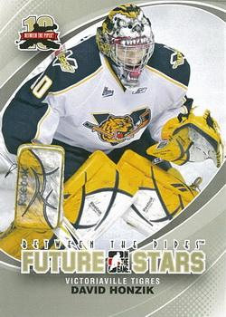 2011-12 In The Game Between The Pipes #19 David Honzik Front