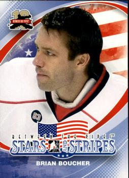 2011-12 In The Game Between The Pipes #157 Brian Boucher Front