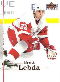 2007-08 Upper Deck #7 Brett Lebda Front