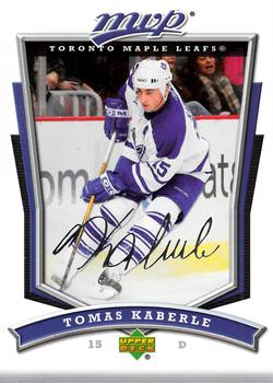 2007-08 Upper Deck MVP #178 Tomas Kaberle Front