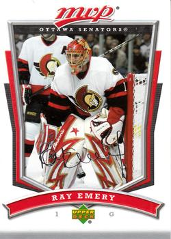 2007-08 Upper Deck MVP #252 Ray Emery Front