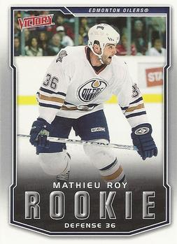 2007-08 Upper Deck Victory #244 Mathieu Roy Front