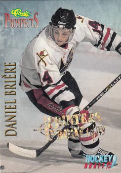 1995 Classic - Printer's Proofs #58 Daniel Briere Front