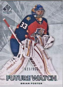 2011-12 SP Authentic #195 Brian Foster Front