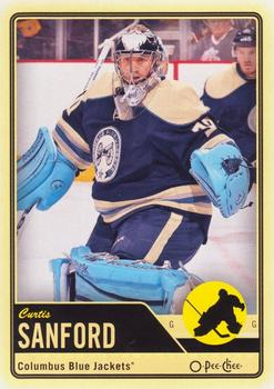 2012-13 O-Pee-Chee #187 Curtis Sanford Front