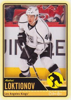 2012-13 O-Pee-Chee #339 Andrei Loktionov Front
