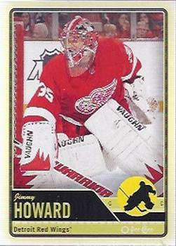 2012-13 O-Pee-Chee #481 Jimmy Howard Front