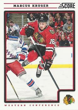 2012-13 Score #128 Marcus Kruger Front