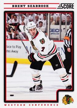 2012-13 Score #125 Brent Seabrook Front
